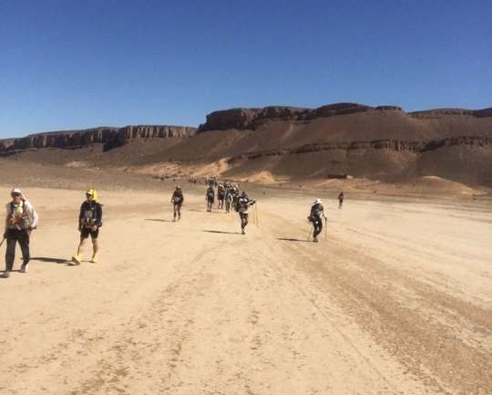 Five Things I Discovered About Myself While Running in the Sahara