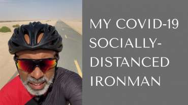 Unshakeable Goals & How To Hit Them: My COVID-19 Ironman Story